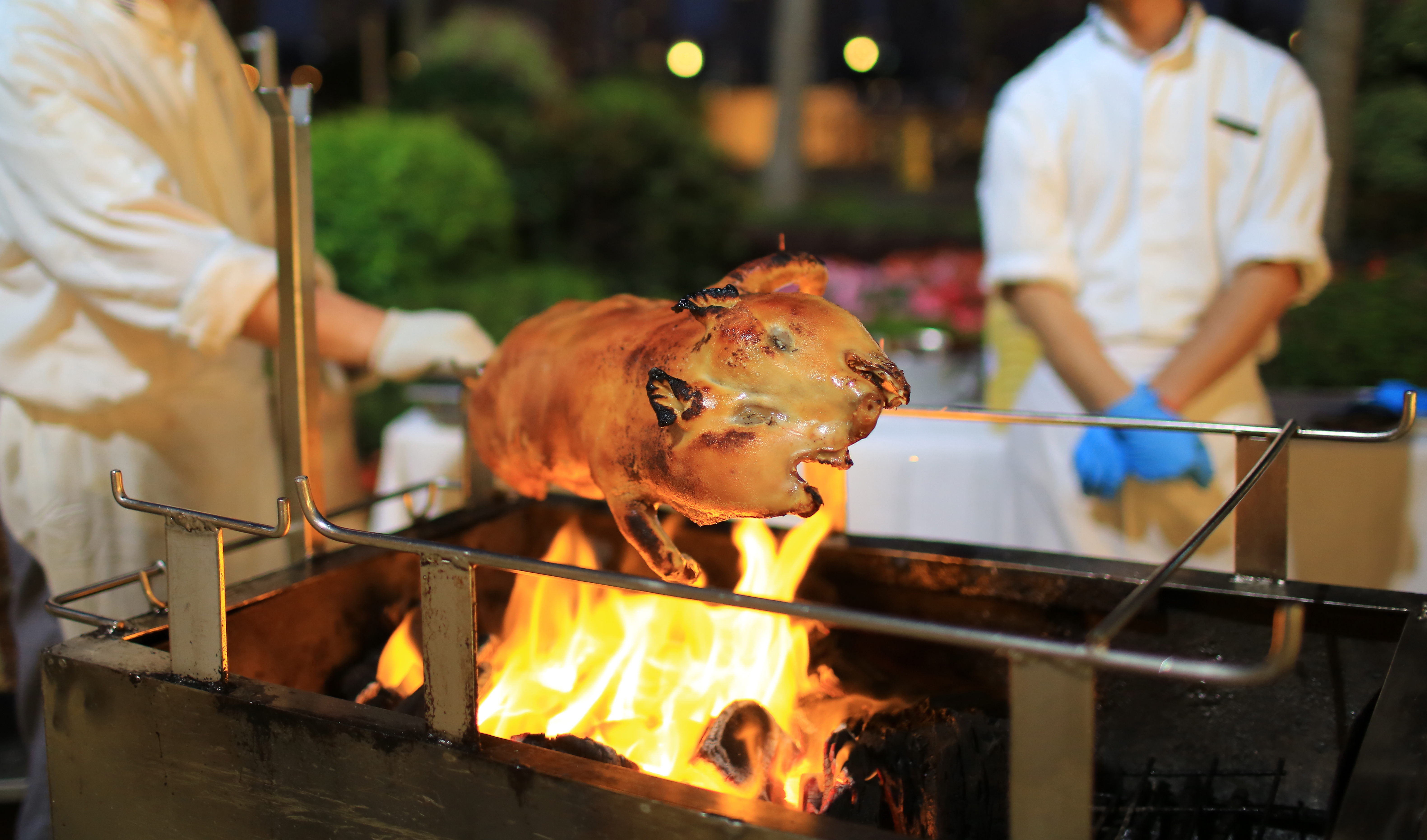 Grand Coloane Resort Fathers Day Promo Spit Roast Pig
