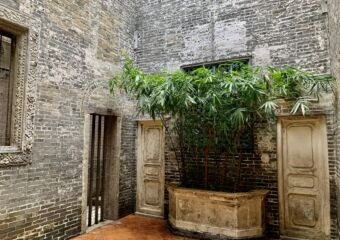 Lou Kau Mansion Interior Corner with Doors Macau Lifestyle
