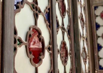 Lou Kau Mansion Interior Vitrals Macau Lifestyle