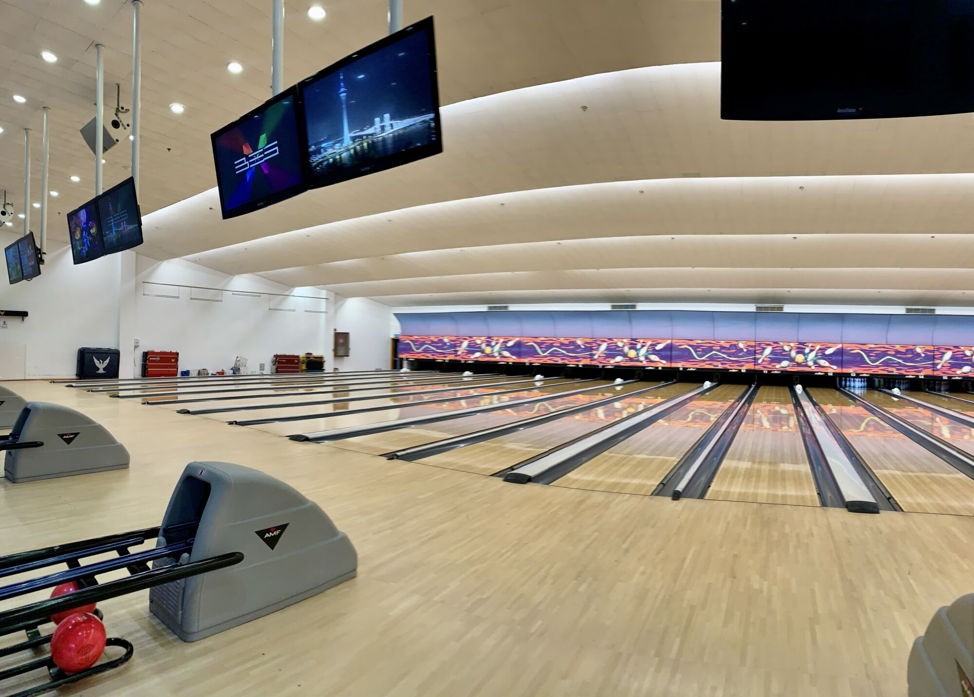Macau East Asian Games Dome Bowling Alley Macau Lifestyle Macau Lifestyle
