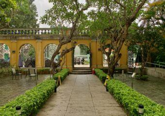 Sir Robert Ho Tung Library Outside Macau Lifestyle