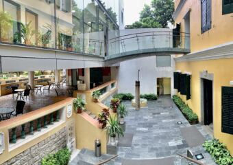 Sir Robert Ho Tung Panoramic Photo Inside Exterior Macau Lifestyle