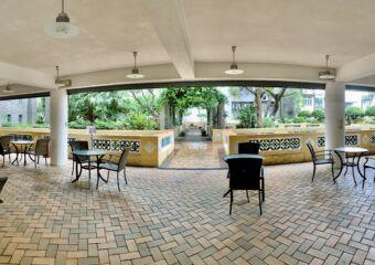 Sir Robert Ho Tung Terraced Area Covered Macau Lifestyle