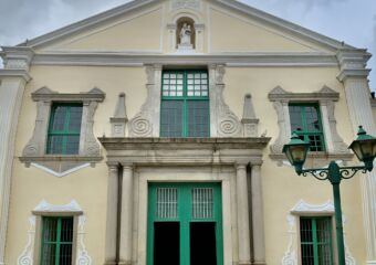 St Augustine Church Full Front Outdoor Macau Lifestyle