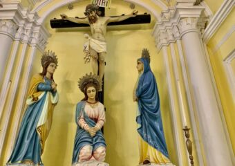 St Augustine Church Inside Jesus Image Macau Lifestyle