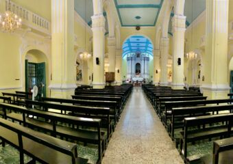 St Augustine Church Inside Panoramic Photo Macau Lifestyle