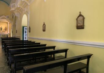 St Augustine Church Praying Area Macau Lifestyle