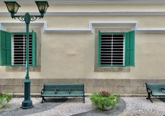 St Augustine Square Seating Area Exterior Macau Lifestyle