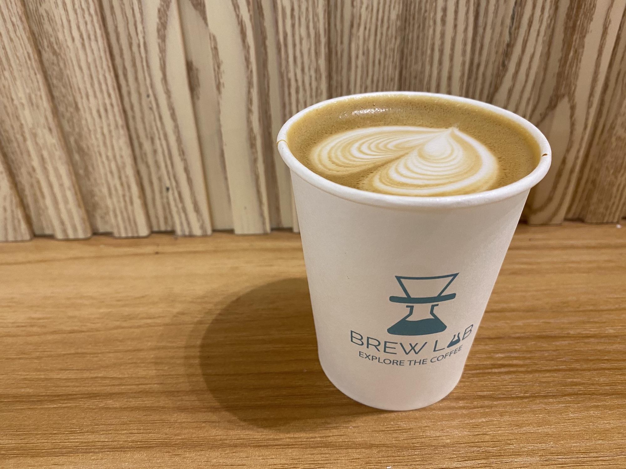 brew lab coffee macau flat white