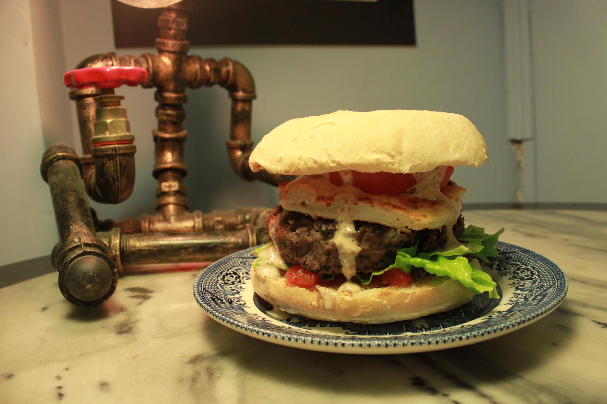 larry's place vegetarian burger