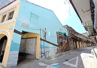 DPICC繪畫藝術家河邊新街-沙井天巷璧畫