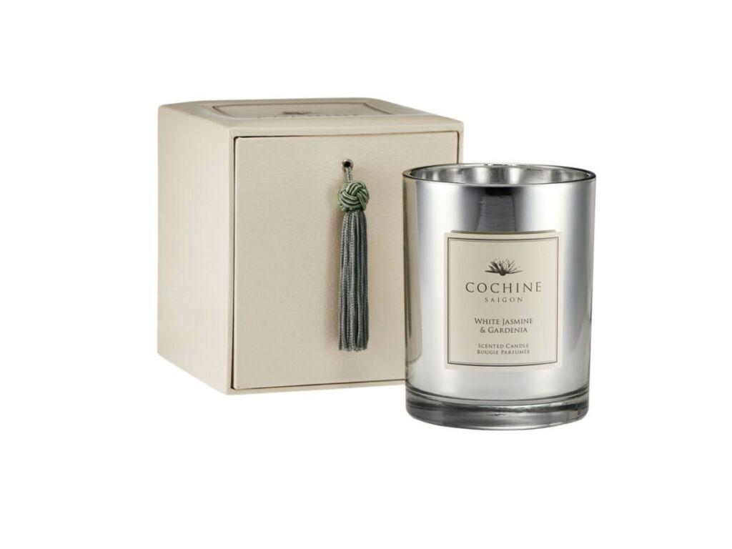 Cochine White Jasmine Gardenia candle