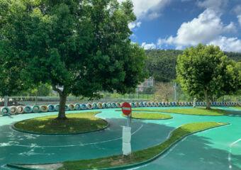 Hac Sa Public Swimming Pool Facilities Kids Racing Track Macau Lifestyle