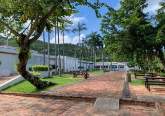 Hac Sa Public Swimming Pool Facilities Outdoor Leisure Area Macau Lifestyle