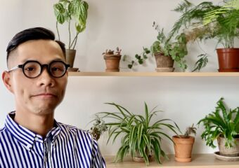 Kenneth Ho WWAVE Design Portrait close to the Plants Macau Lifestyle