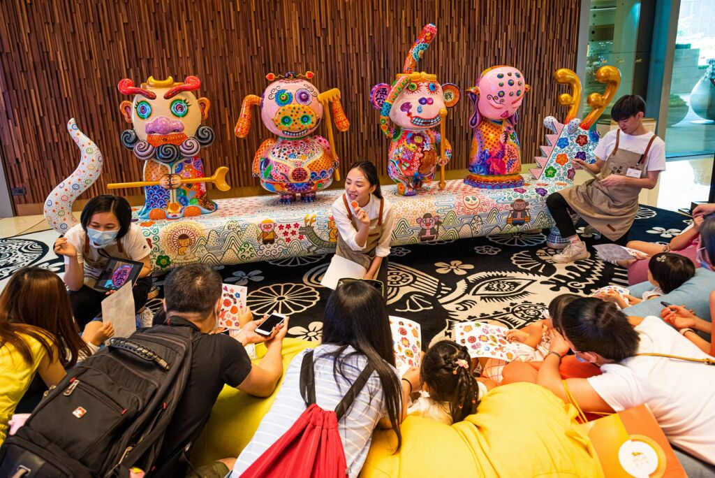 MGM Macau Cotai Kids PLaying on the Floor Summer Fun