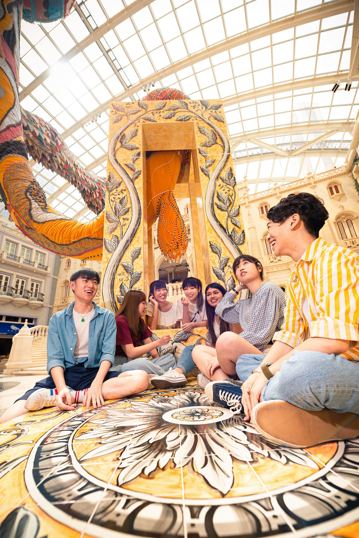 MGM Macau summer activities fun at grande praca