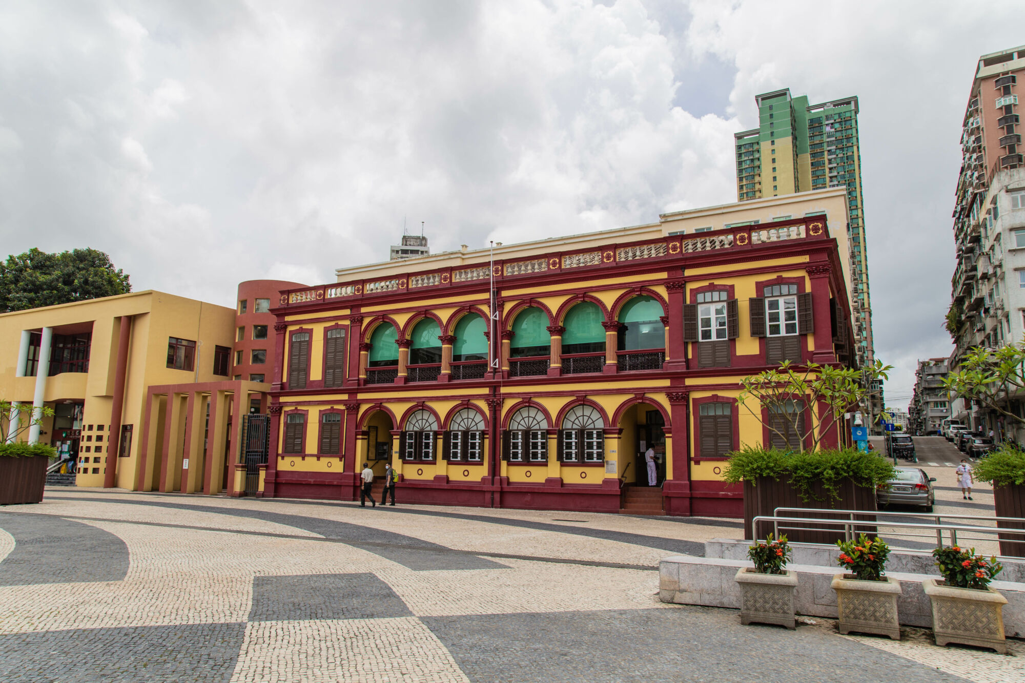 Right view of the exterior of the Macau Historical Archives