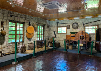 Natural and Agrarian Museum Indoor Wooden Area Macau Lifestyle