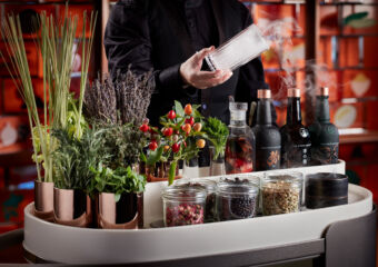 Voyages by Alain Ducasse_Gin Trolley