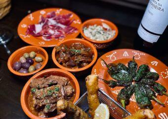 tapas at three sardines on the table macau lifestyle