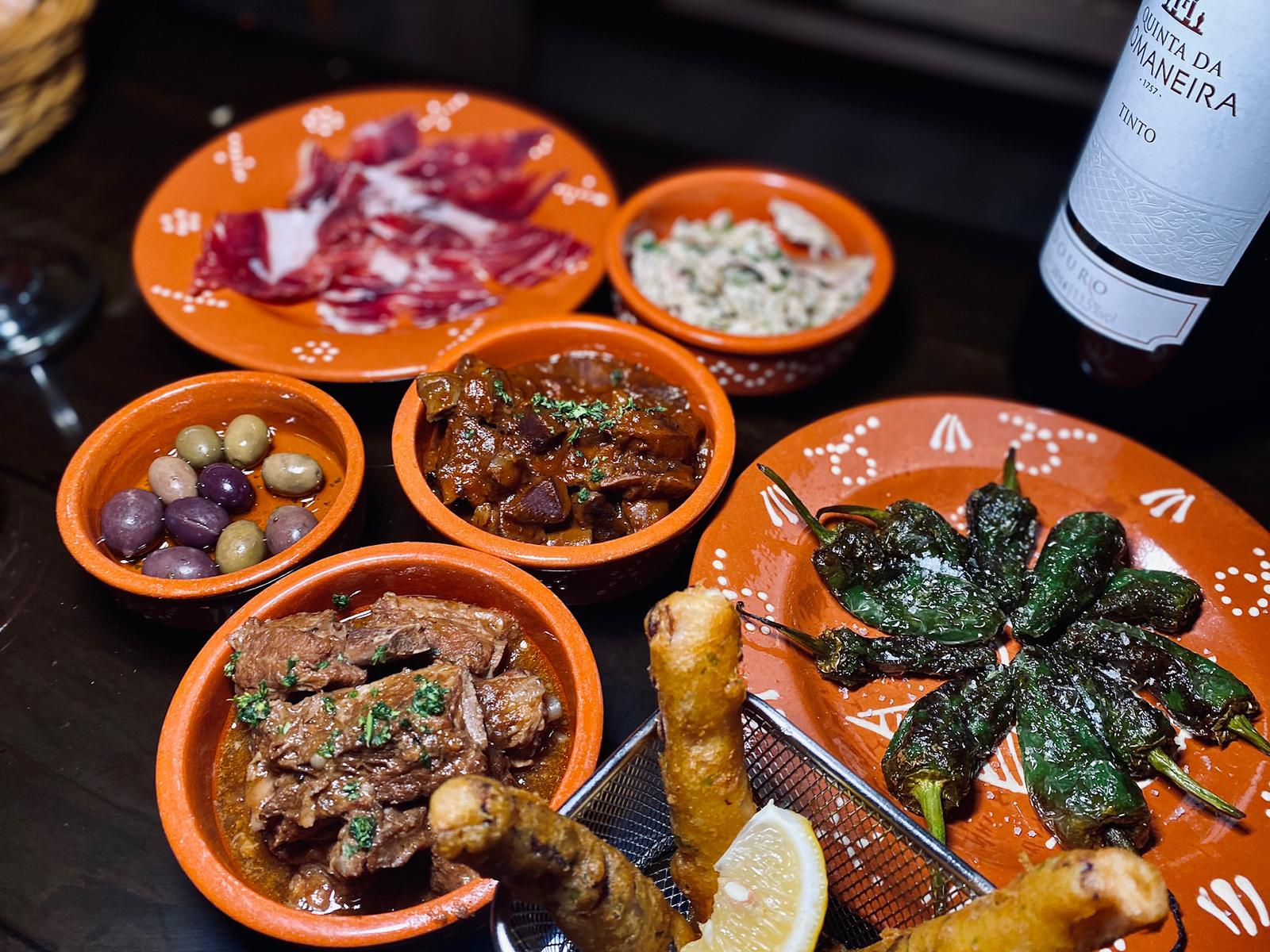 tapas at three sardines on the table macau lifestyle