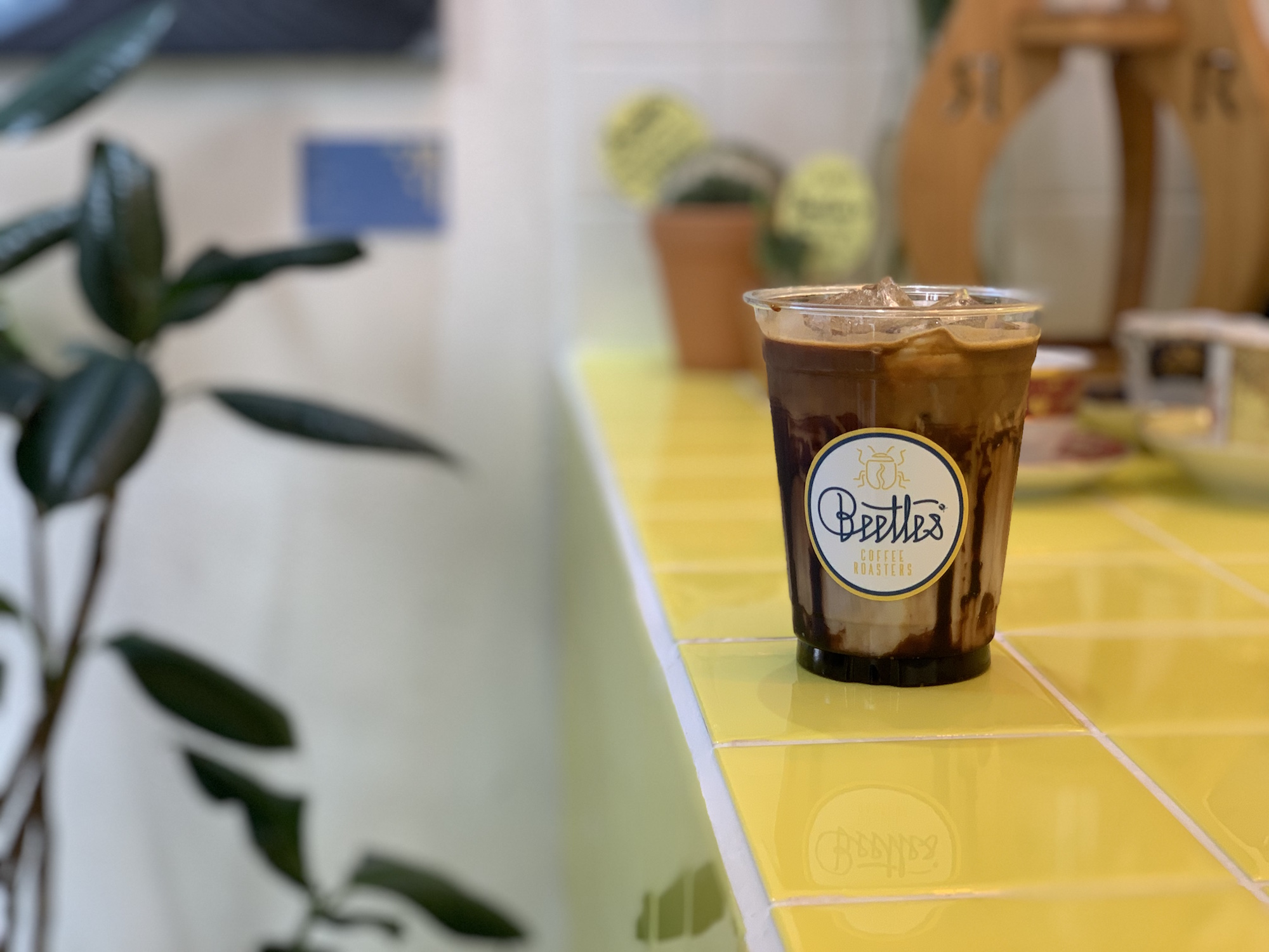Beetles Cafe Coffee Latte on the Right Side Macau Lifestyle