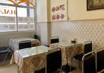 Lou Lan Islam Restaurant Interior Tables at the Entrance Macau Lifestyle