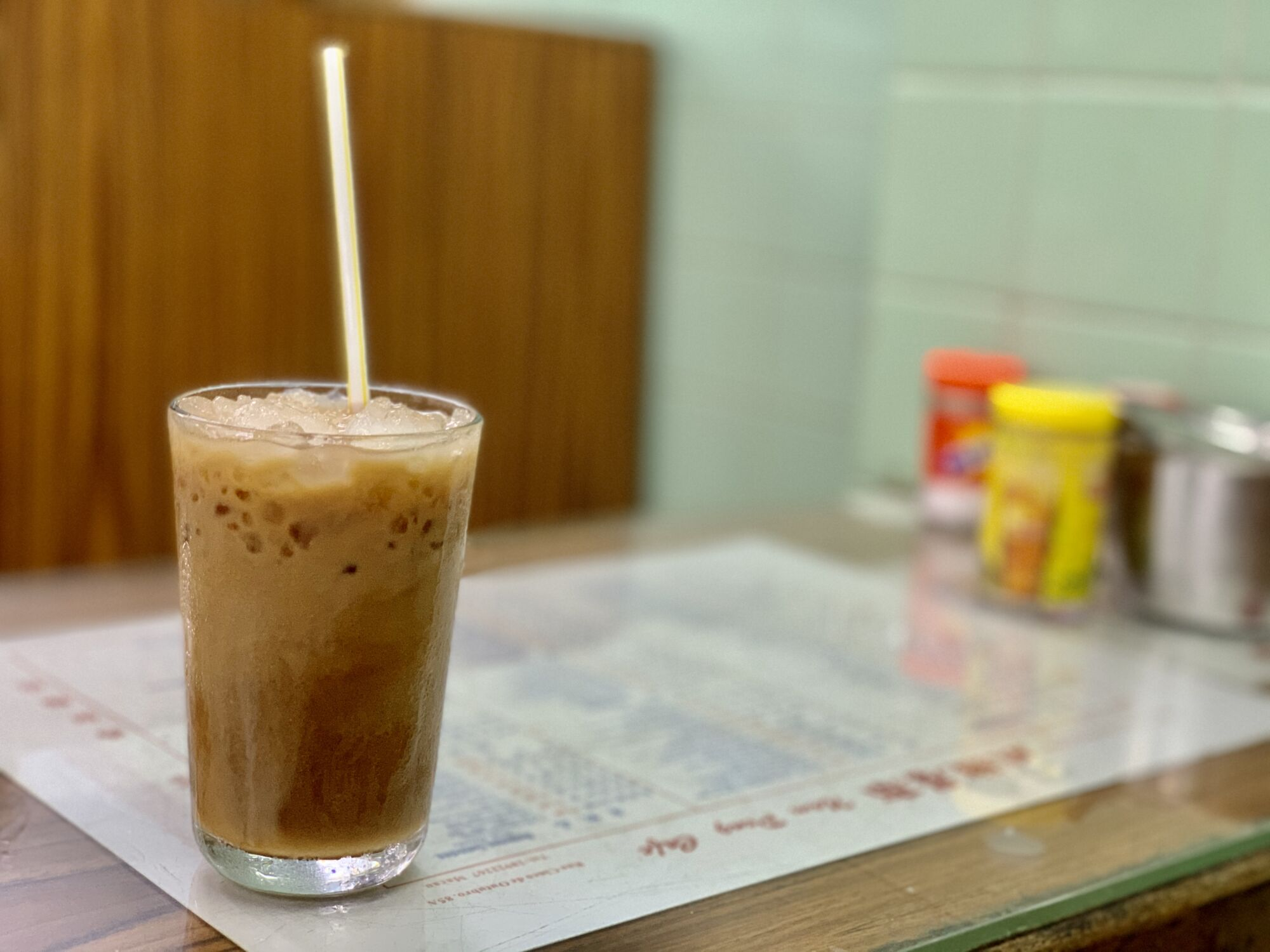 Milk Tea from Nam Ping on the Table Macau Lifestyle