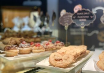 Portuguese Bakery Interior Pastries at the Counter Macau Lifestyle