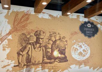 Portuguese Bakery Interior Wall Macau Lifestyle