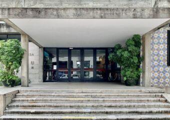 Portuguese School Exterior Front Macau Lifestyle