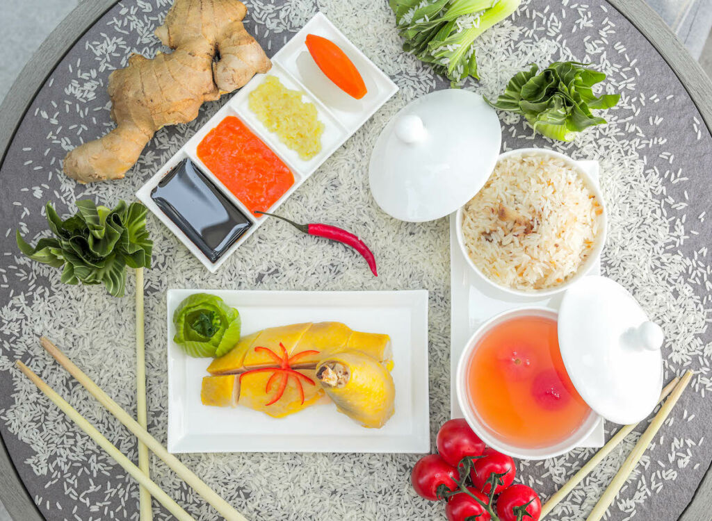 St. Regis Hong Kong The Drawing Room – Hainan Chicken Rice