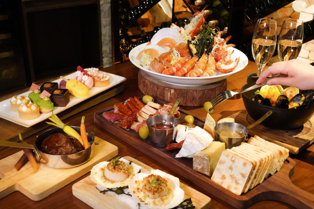 The Langham Bostonian Seafood & Grill早午餐拼盤 Home Brunch Platter