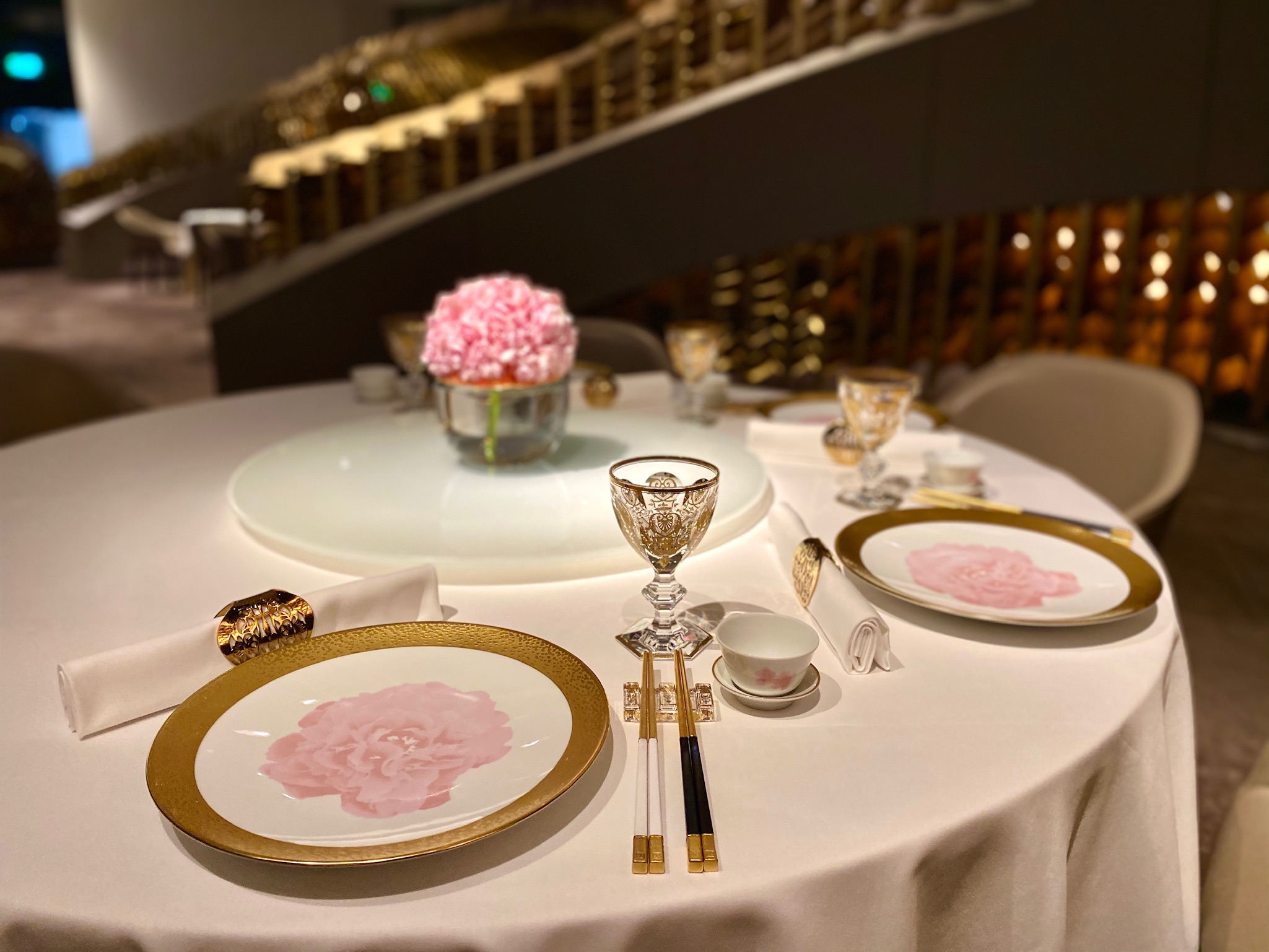 table setting yi morpheus hotel city of dreams macau lifestyle