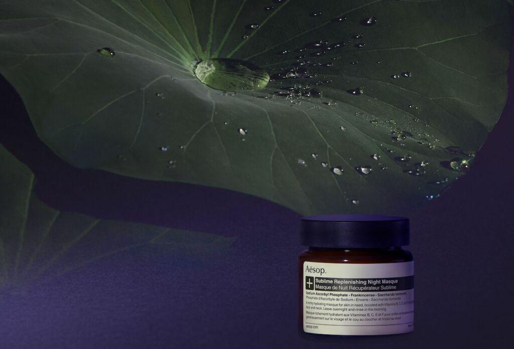 Aesop Sublime Replenishing night Masque Beauty Buys September