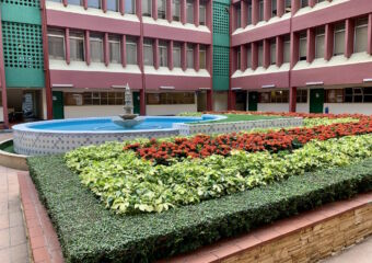 Macao Polytechnic Institute Indoor with Fountain Macau Lifestyle