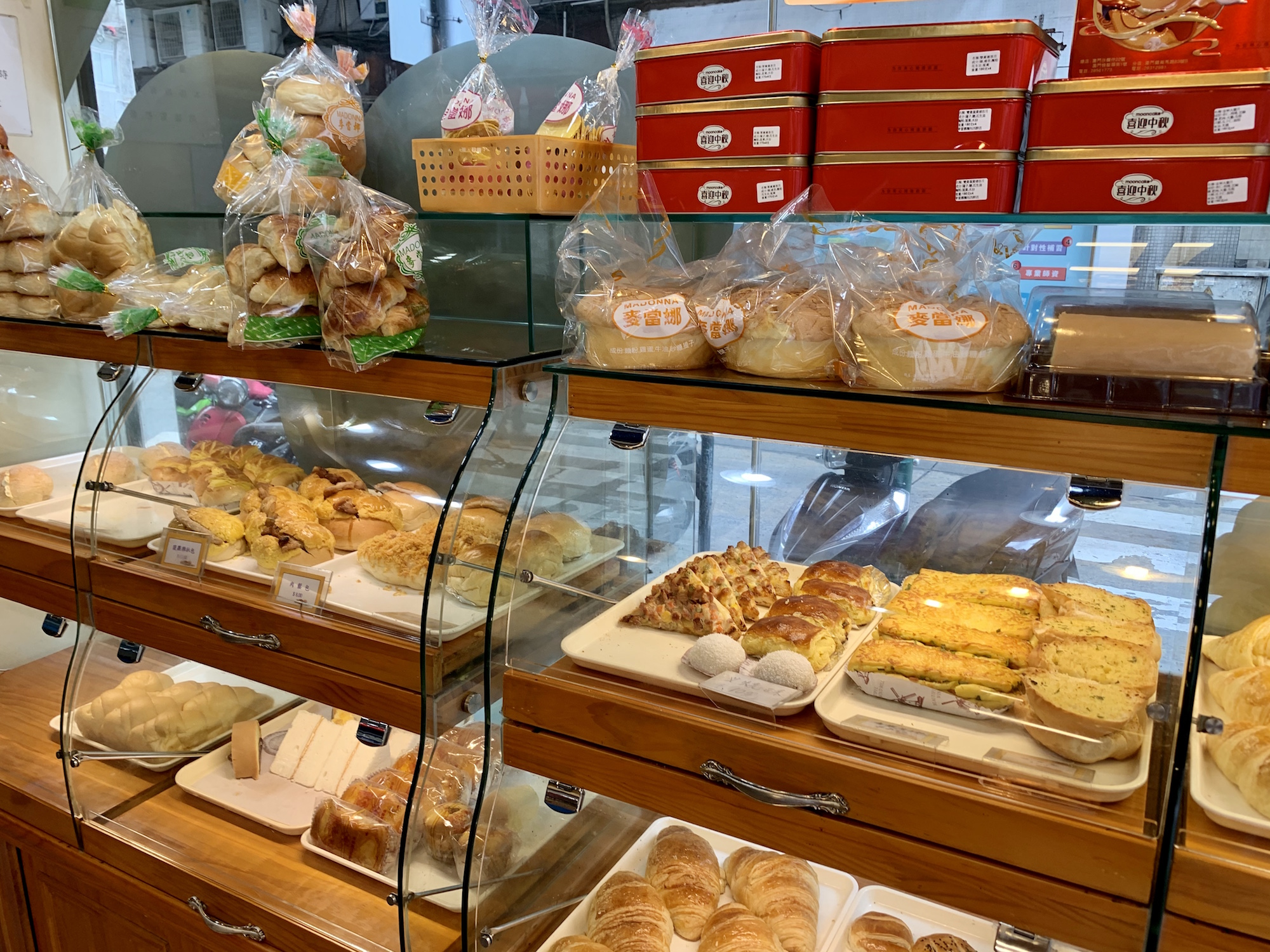 Macktongna Bakery Products on Display Macau Lifestyle