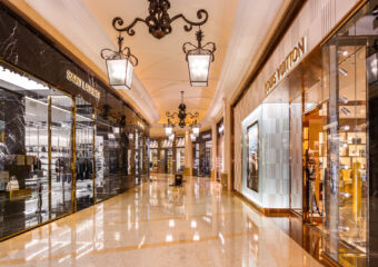 Shoppes at Four Seasons Louis Vuitton on the Right DFS CG Listing