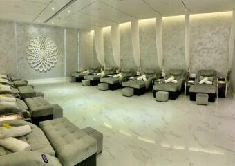 Studio City Vinca Foot Spa Collective Massage Room Interior Macau Lifestyle