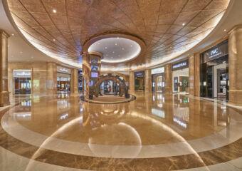 T Galleria by DFS, Macau, Shoppes at Four Seasons Main Hall
