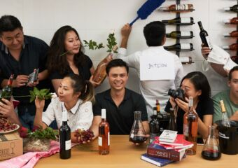 The Flying Winemaker - One Day Express Crash Course in Wine - Macau - Eddie McDougall and the team