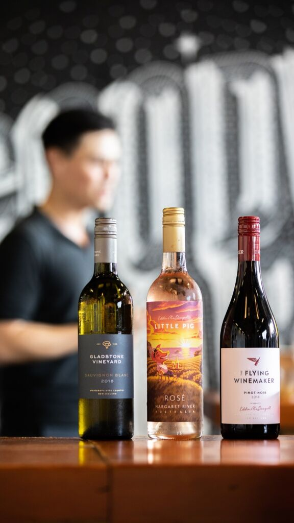 The Flying Winemaker – One Day Express Crash Course in Wine – Macau – wine bottles (1)