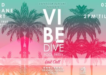 Vibe and Dive Part Coloane Resort Poster