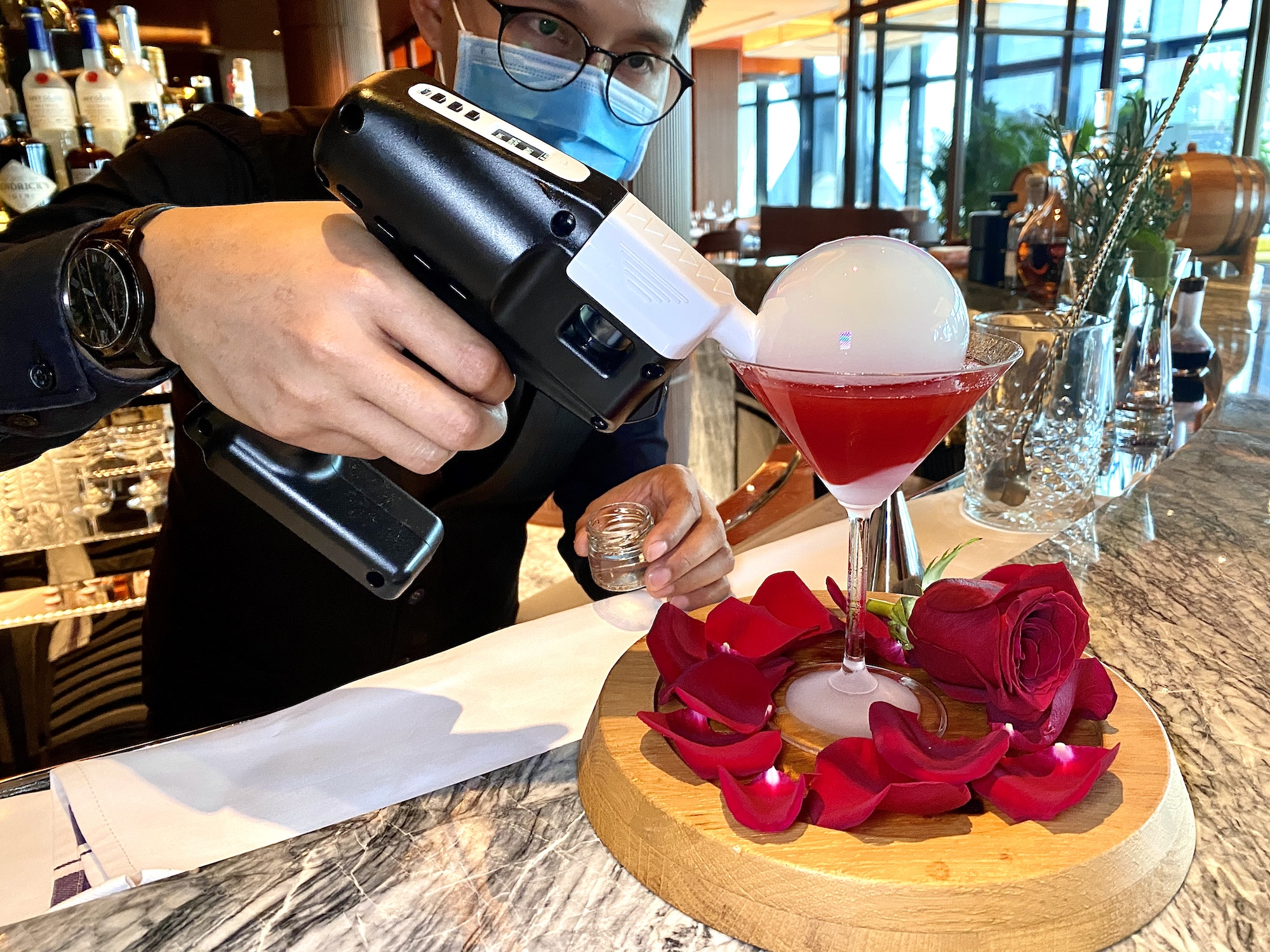 voyages by alain ducasse bar guns and roses