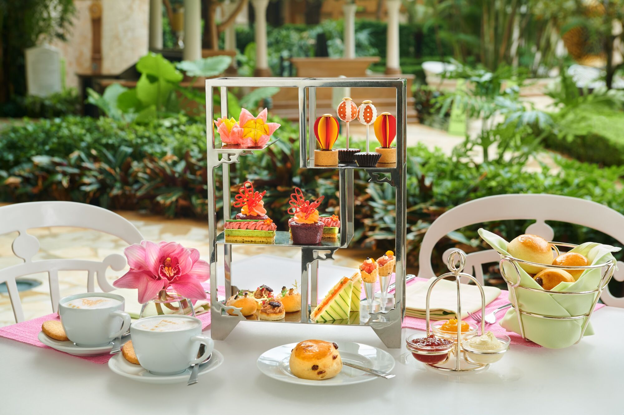 Cafe Esplanada Themed Afternoon Tea Set for the Lantern Festival Where to Eat Macau October