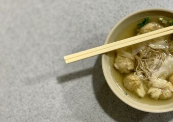 Lun Kei Chinese Restaurant Wonton Noodles on the Table Macau Lifestyle