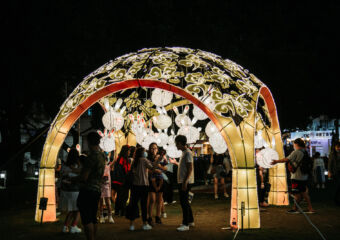 Macao Light Festival 2020 at Nam Van Lakes by Thea