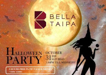 bella taipa halloween party october 2020