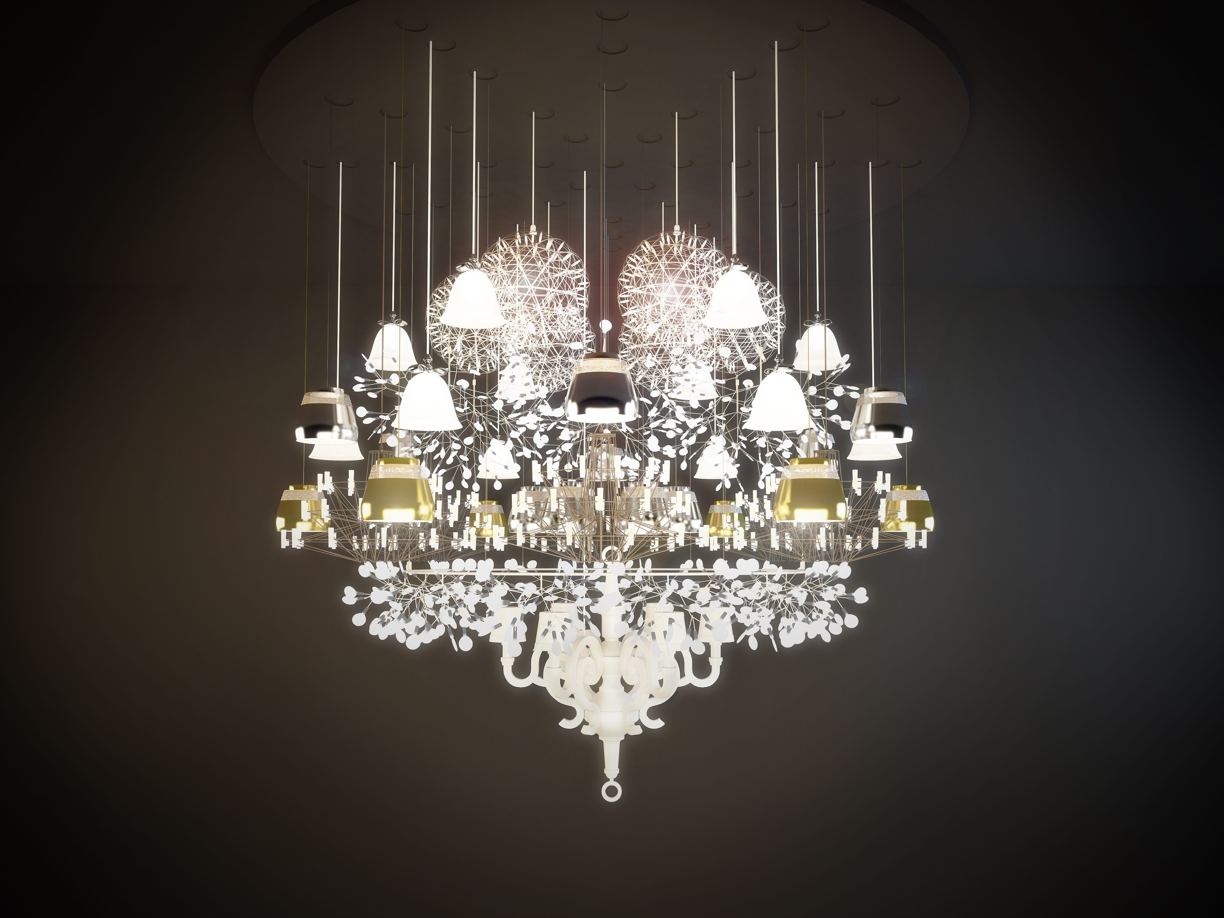 Mega Chandelier by Moooi Works